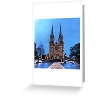 Sydney Architecture Greeting Card