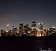 Sydney At Night by James Toh
