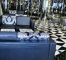 Shapes & Patterns in Foyer at the Casino, Riverside,  Entrance, Vic by EdsMum