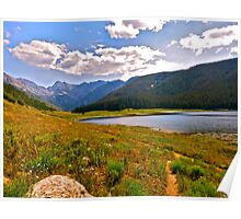 """Piney Lake Trail"" Colorado Poster"