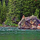 Children With A Big Rock by Brenton Cooper