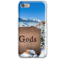 Blustery day in Garden of God's iPhone Case/Skin
