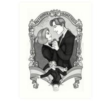 X-Files - Post Modern Prometheus Art Print