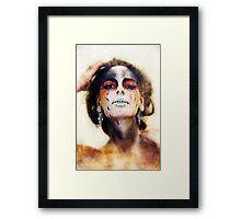 Painted 1 Framed Print