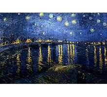 Starry Night Over the Rhone - Van Gogh Photographic Print