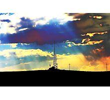 Radio Waves Photographic Print