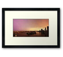 Panorama | Post Storm Sky Framed Print