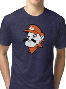 Super Pistol Pete - Mario/OSU Tri-blend T-Shirt