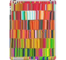 Digital rainbow iPad Case/Skin