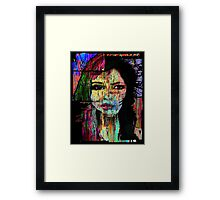 About you Now Framed Print