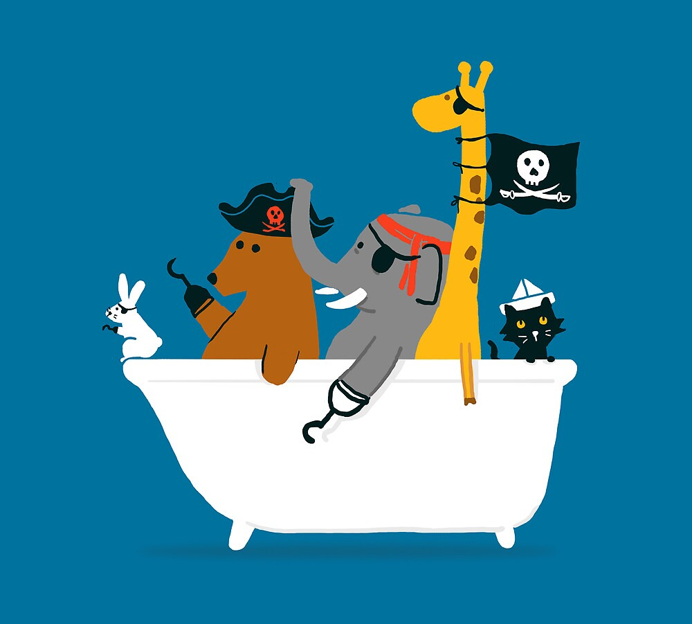 Everybody wants to be the pirate by Choma House