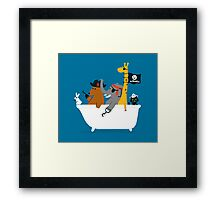 Everybody wants to be the pirate Framed Print