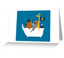 Everybody wants to be the pirate Greeting Card