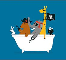 Everybody wants to be the pirate Photographic Print
