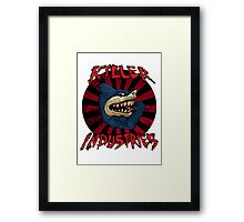 Killer iNdustries - Sharks of the Street. Framed Print
