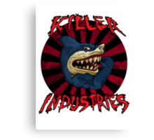 Killer iNdustries - Sharks of the Street. Canvas Print