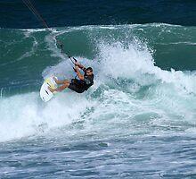 Kite Surfer #1 by Noel Elliot