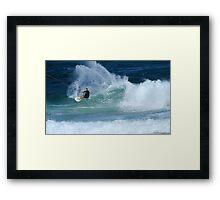 Kite Surfer #3 Framed Print