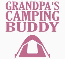 Grandpa's Camping Buddy Kids Tee