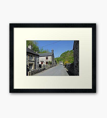 Cottages at Milldale Framed Print