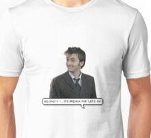 David Tennant - Doctor Who  Unisex T-Shirt