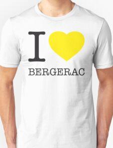 I ♥ BERGERAC Unisex T-Shirt