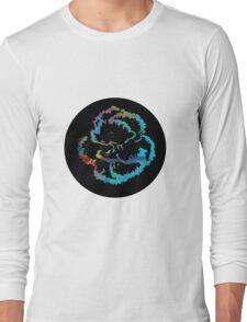 Multi Flower Long Sleeve T-Shirt