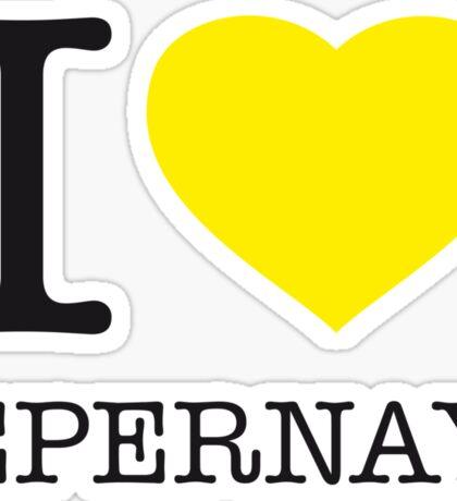 I ♥ EPERNAY Sticker