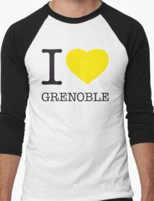 I ♥ GRENOBLE Men's Baseball ¾ T-Shirt