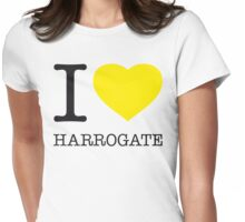 I ♥ HARROGATE Womens Fitted T-Shirt