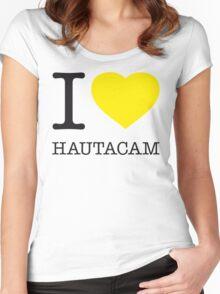I ♥ HAUTACAM Women's Fitted Scoop T-Shirt
