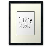 Harry Styles silver spoon tattoo Framed Print