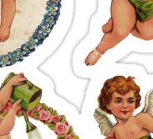 Valentine Cherubs Sticker