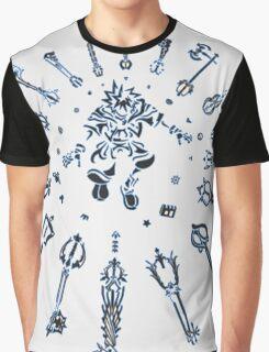 """Kingdom Hearts """"Keyblade"""" Graphic T-Shirt"""