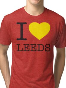 I ♥ LEEDS Tri-blend T-Shirt