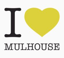 I ♥ MULHOUSE One Piece - Short Sleeve