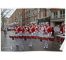 New Year's Day Parade leon high school band London 2014 Poster