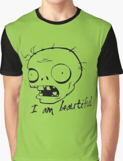 Plants vs Zombies - I am Beautiful Graphic T-Shirt