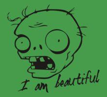 Plants vs Zombies - I am Beautiful by José Luis López Oliva