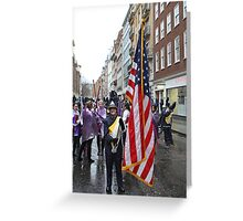 New Year's Day Parade  London 2014 Greeting Card
