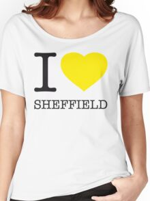 I ♥ SHEFFIELD Women's Relaxed Fit T-Shirt