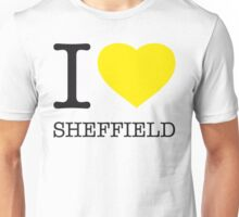 I ♥ SHEFFIELD Unisex T-Shirt