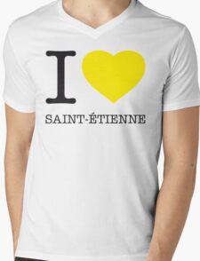 I ♥ ST. ETIENNE Mens V-Neck T-Shirt