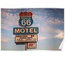 66 Motel Poster