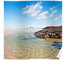 Polzeath Beach (July) Poster