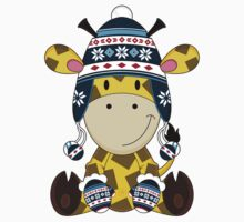 Cute Wooly Hat Giraffe Kids Clothes