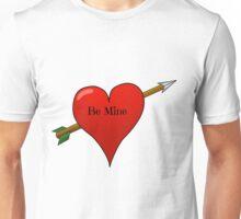 Be Mine Valentine Heart Unisex T-Shirt