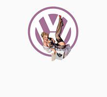 Volkswagen Pin-Up Chatty Cathy (purple) Unisex T-Shirt