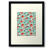 floral pattern Framed Print