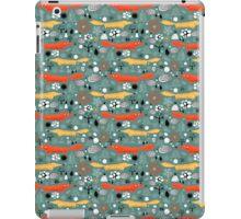 pattern fox in the woods iPad Case/Skin